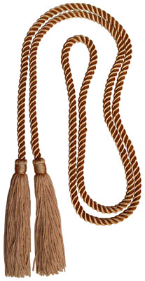 Honor Cord - ANTIQUE GOLD COLOR
